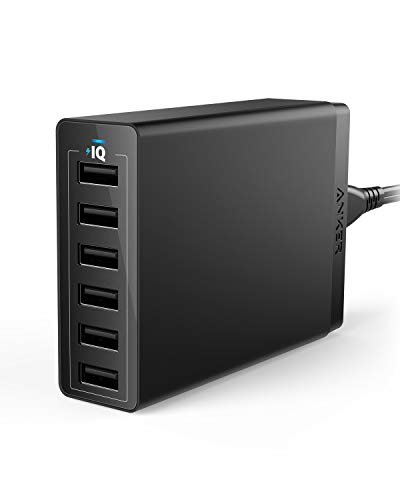 Anker AK-848061074772 AK-848061074772 6-Port USB Wall Charger (Black)