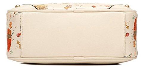 Keshi Pu neuer Stil Damen Handtaschen, Hobo-Bags, Schultertaschen, Beutel, Beuteltaschen, Trend-Bags, Velours, Veloursleder, Wildleder, Tasche Beige 1