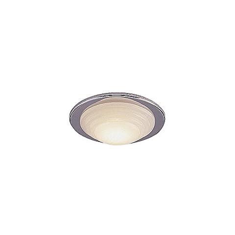 Modern, Minimalist Chrome Recessed Downlight, Downlighter Bathroom, 1 Bulb, Bathroom, 50W Halogen (Low Voltage Chrome Bathroom Downlight), FLLV1500CHI4L |