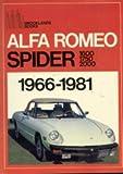 Alfa Romeo Spider: 1966-1981