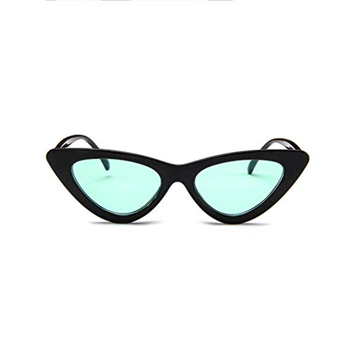 REALIKE Damen Neue Sonnenbrille Mode Katzenauge Cat-Eye Schmal UV-400 Designer-Brille High-Mode...