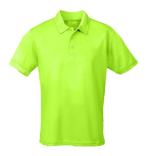 Just Cool - Performance - Performance Polo Shirt, atmungsaktiv, Shirt, atmungsaktiv, Electic Green