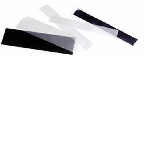 SF-Streifen 217x27,5 mm, glasklare Trägerfolie