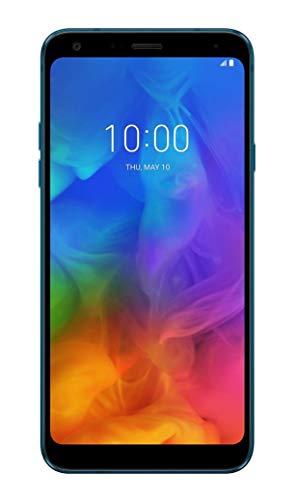 LG Q7+ 64GB Handy, blau, Android 8.0 (Oreo)