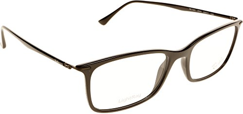Ray Ban Optical Für Mann Rx7031 Shiny Black Kunststoffgestell Brillen, 55mm