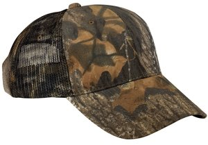 Port Authority® Pro Camouflage Series Cap with Mesh Back. C869 Mossy Oak New Serie Mesh Cap