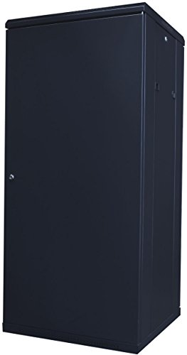 Top 19Power 27U 19 inch Free Standing Server Rack Cabinet with Tempered Glass Door – Black Online