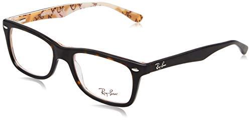 Ray-Ban Damen 0rx 5255 5776 51 Brillengestelle, Blau (Top Blue/Azure/Violet) (Prescription Frames Ray Ban)