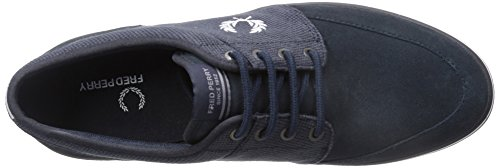Fred Perry Stratford Herren Trainers Navy
