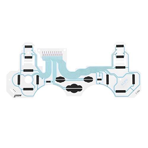ZOUCY Folienfilm Button Ribbon Leitfähige Tastatur Flex PieceB SA1Q194A Ersatz für PS3 Playstation 3 Vibration Griff Controller Zubehör