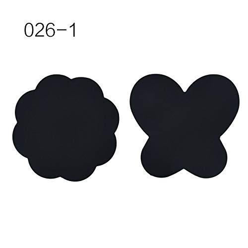 2 Stücke Silikon Farbe Palette Mat Schmetterling Pflaumenblüte Faltbare Waschbar Nail art Stamping Pad 026-1