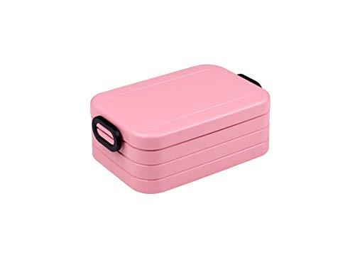 Mepal Lunchbox take a Break midi - Nordic pink, Plastik, 18.5 x 12 x 6.5 cm