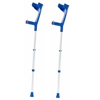 CareCo Magic Twin Open-Cuff Crutches