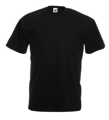 F140 - 3er Pack Herren T-Shirt T-Shirts Rundhals in Gr. 3XL, 4XL oder 5XL Black