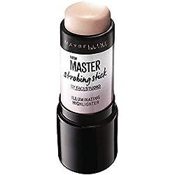 Maybelline New York Master Strobing Stick Iluminador, Tono 200 Medium pieles medias. - 9GR