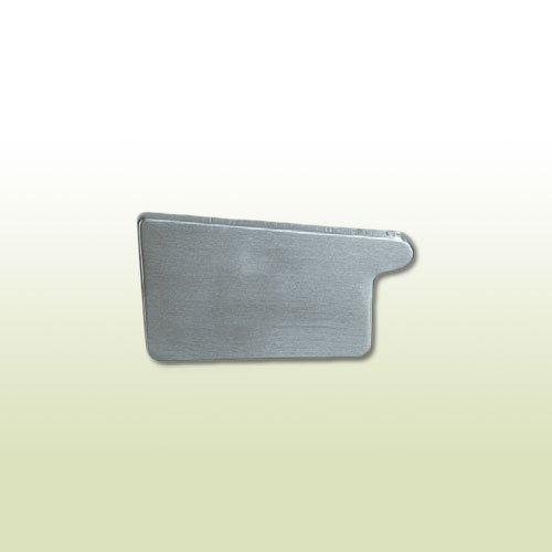 Titanzink Rinnenboden kastenform RG 200 mm links