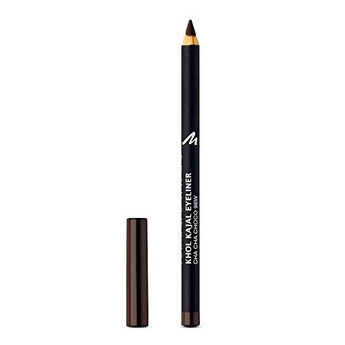 Manhattan Khol Kajal Eyeliner, Dunkelbrauner Kohle-Kajalstift für Smokey Eyes und eine ideal umrandete Augenkontur, Farbe Cha Cha Choco 96W (1 x 1,3g) -