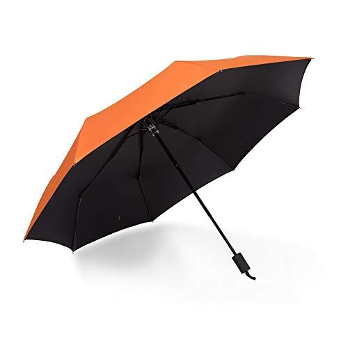 Regenschutz Outdoor Funktionstasche Regenfest Faltbarer Sonnenschirm 8 Knochen Schattierung UV-Schutz Windbeständig Abweisend Klein Tragbar Einfach zu tragen Beide für Sommer und Sommer Unisex