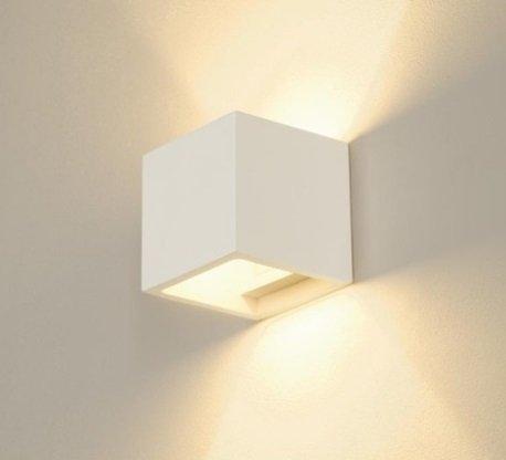 lineteckledr-e1100105-applique-da-parete-in-gesso-ceramico-verniciabile-a-forma-di-cubo-emissione-lu
