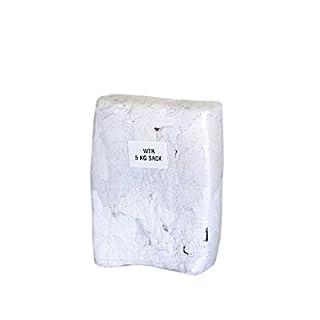 5 kg weiße Putzlappen WTR gegen Entfärbung bestänig