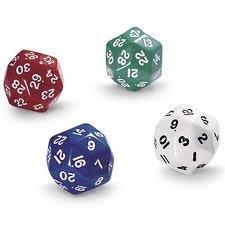 30- seitige Würfel (Pkt . Von 4) Triacontagon - Zum Mathe - Spiele und andere Spiele