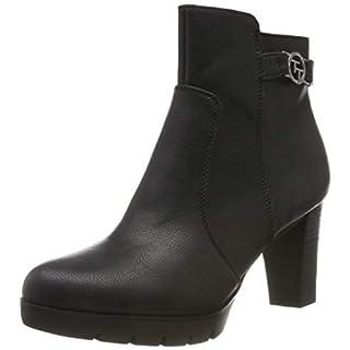 TOM TAILOR für Frauen Schuhe Stiefeletten Black, 37