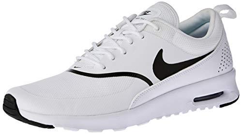 Nike Air Max Thea, Baskets Femme, Blanc (White/Black 108), 38 EU