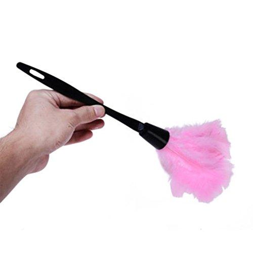 Masterein 35cm weicher Microfiber Mini sauber Anti Static Türkei Staubwedel Faser Reiniger Pinsel Rosa