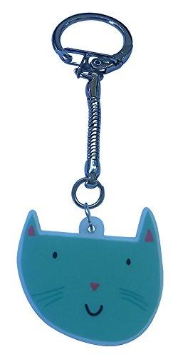 Cat Handy-charme (Funky cat Schlüsselanhänger–Grün)