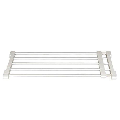 qianle-barriere-securite-chien-animaux-longueur-reglable-sans-percage-blanc