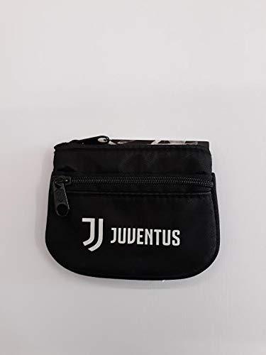 Seven Juventus Ring Coin Case Schlüsselanhänger, 12 cm, Schwarz (899)