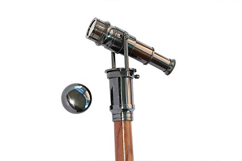 EYVIND Beautiful Vintage Brass Handle Victorian Telescope, used for sale  Delivered anywhere in UK