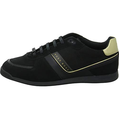 BOSS Hugo Sneakers Low Maze Lowp lux2 Größe 40 EU Schwarz (Schwarz) (Hugo Boss Schuhe Herren Schwarz)