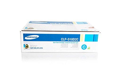 Preisvergleich Produktbild Samsung CLP510D2C CYAN 2.000 S. Toner