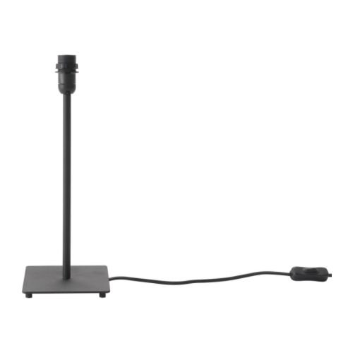 IKEA HEMMA - Table lamp base, black - 35 cm by Ikea