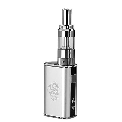 Cigarette électronique de type TANK , e-cigarette NATURALSMOKE - 1050mAh Batterie - sans nicotine ni