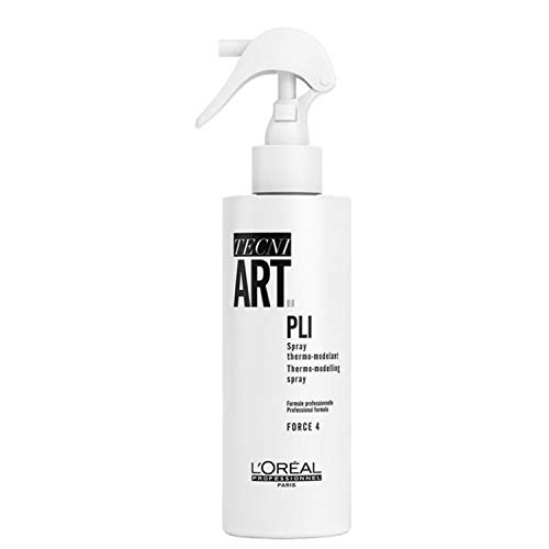 L\'Oréal Professionnel TecniART Pli, Thermo-modelling spray Thermospray, Haltegrad 4, 190 ml