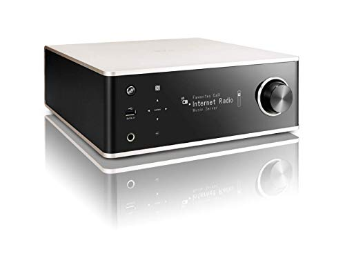 Denon DRA100SPE2 DRA-100 Design Serie Receiver (Spotify Connect, NAS, WLAN, USB, Aux-In, Bluetooth, AirPlay, 2x 70 Watt) alu/schwarz 100 Bluetooth Stereo