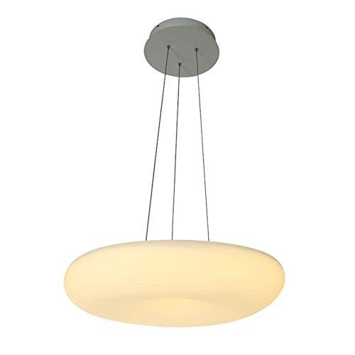 Morden LED Pendelleuchte Licht Ring Höhenverstellbare Hängelampe Wohnzimmer Esstisch Küche Arbeitszimmer Deckenleuchter Dekorative Innenbeleuchtung Warmes Licht 46 * 34 CM 32 Watt 2200LM -