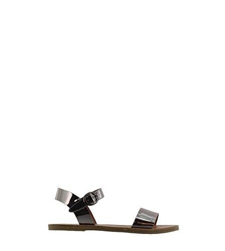 Steve Madden sandalo donddi specchio Argento