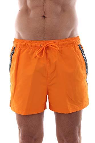 Calvin Klein Jeans KM0KM00272 Boxer Beachwear Mann orange M -