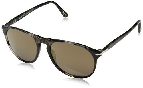 Persol Herren 0Po9649S 1063O3 55 Sonnenbrille, Schwarz (Grey Black/Brown)