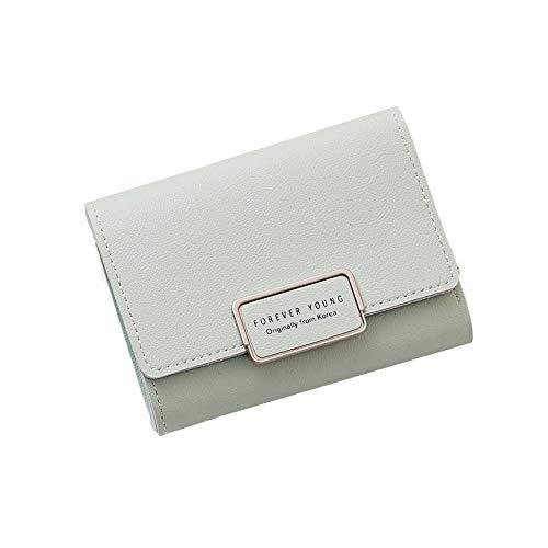 Quaan Exquisit Süss Frau Brieftasche Klein Reißverschluss Multi Karte Position Leder Münze Geldbörse Karte Halter Telefon Schlüssel Kette Geschenk elegant Party elegant zuversichtlich