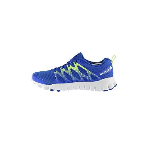 Reebok Flash (Reebok Unisex-Kinder Realflex Train 4.0 Gymnastikschuhe, blau (Vital Blue/Electric Flash/weiß), 38 EU)