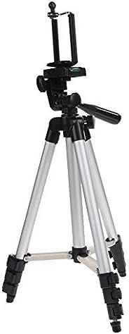 حامل ثلاثي القوائم قابل للتمدد بمسند تثبيت للكاميرا للموبايل ايفون وسامسونج