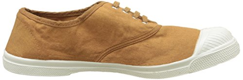Bensimon Tennis Lacet, Baskets Basses Femme Marron (Marron Cannelle)
