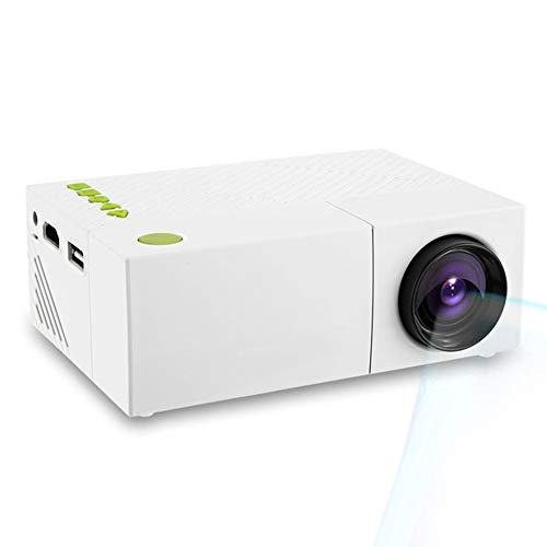 CWHALE Video Mini proiettore LCD Portatile proiettore Home Theater proyector USB SD AV HDMI 600 Lumen 1080P HD LED proiettore Portatile