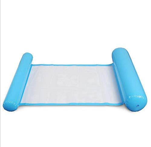 HYFZY Aufblasbare Sich hin- und herbewegende Wasser-Hängematte, FloatingPool Bett in der Luftmatratze-Floss-Sofa-Stuhl-Swimmingpool-aufblasbaren