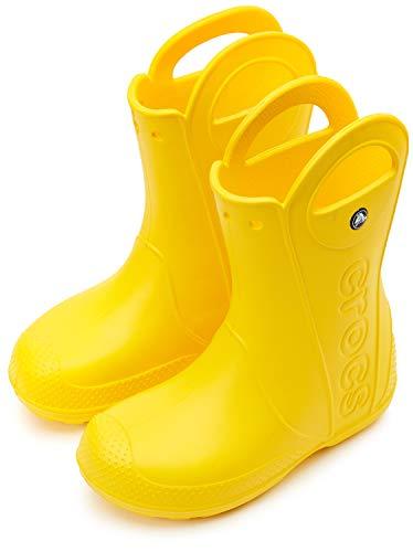 Crocs Handle It Rain Boot Kids Gelb Croslite