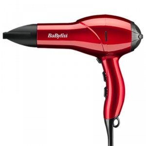 BaByliss 5568BU Salon Light 2100 Professional lightweight AC Hair Dryer - Cherry Red